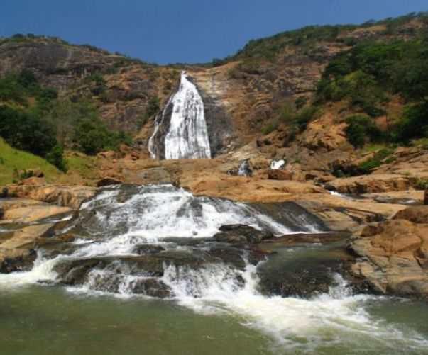 The Farin Ruwa Falls in Nasarawa State Nigeria